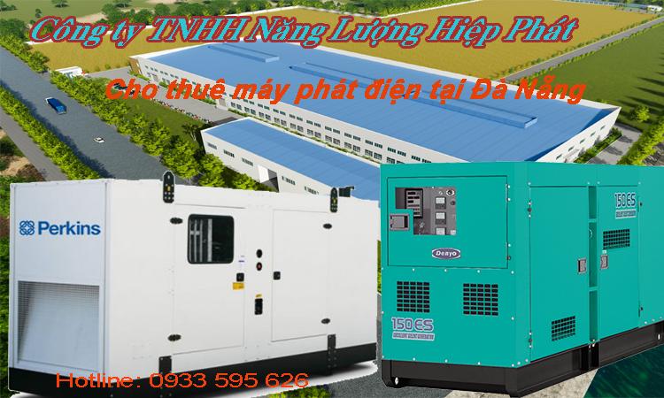 Cho thuê máy phát điện tại Đà Nẵng