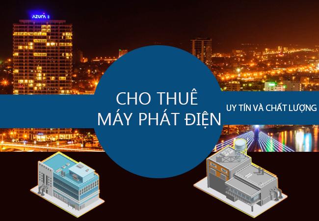 Cho thuê máy phát điện tại Đồng Nai