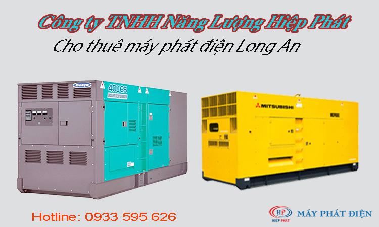 Cho thuê máy phát điện tại Long An