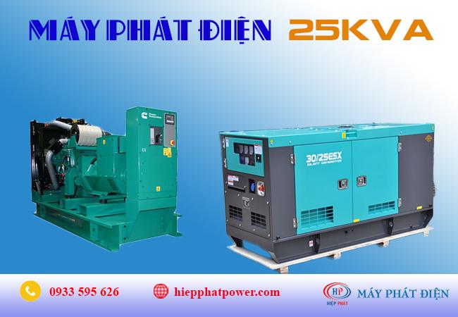 Máy phát điện 25Kva